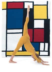 Mondrian Throw